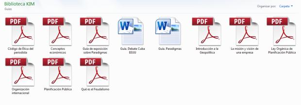 como organizar documentos en la computadora