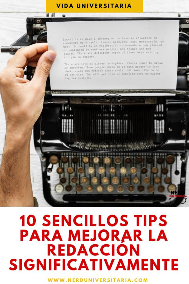 sencillos tips para mejorar la redacción