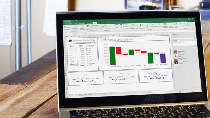 Microsoft-excel-laptop