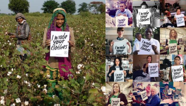 campaña quien hizo mi ropa de la revolucion de la moda