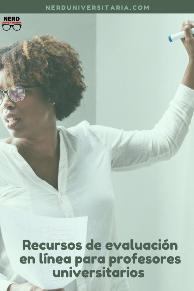 rercursos en internet para profesores universitarios