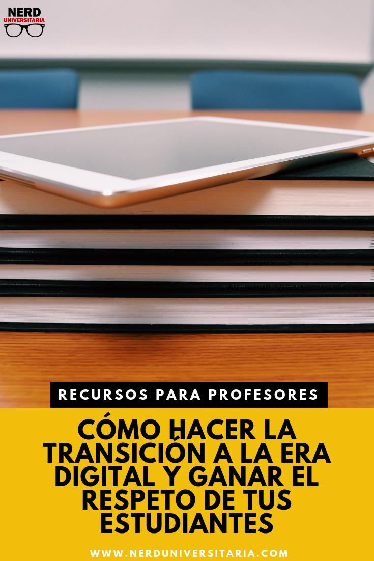 recursos para profesores, plataformas digitales