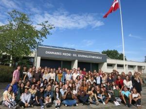 estudiantes de maestría Mundus Journalism 2018-2020